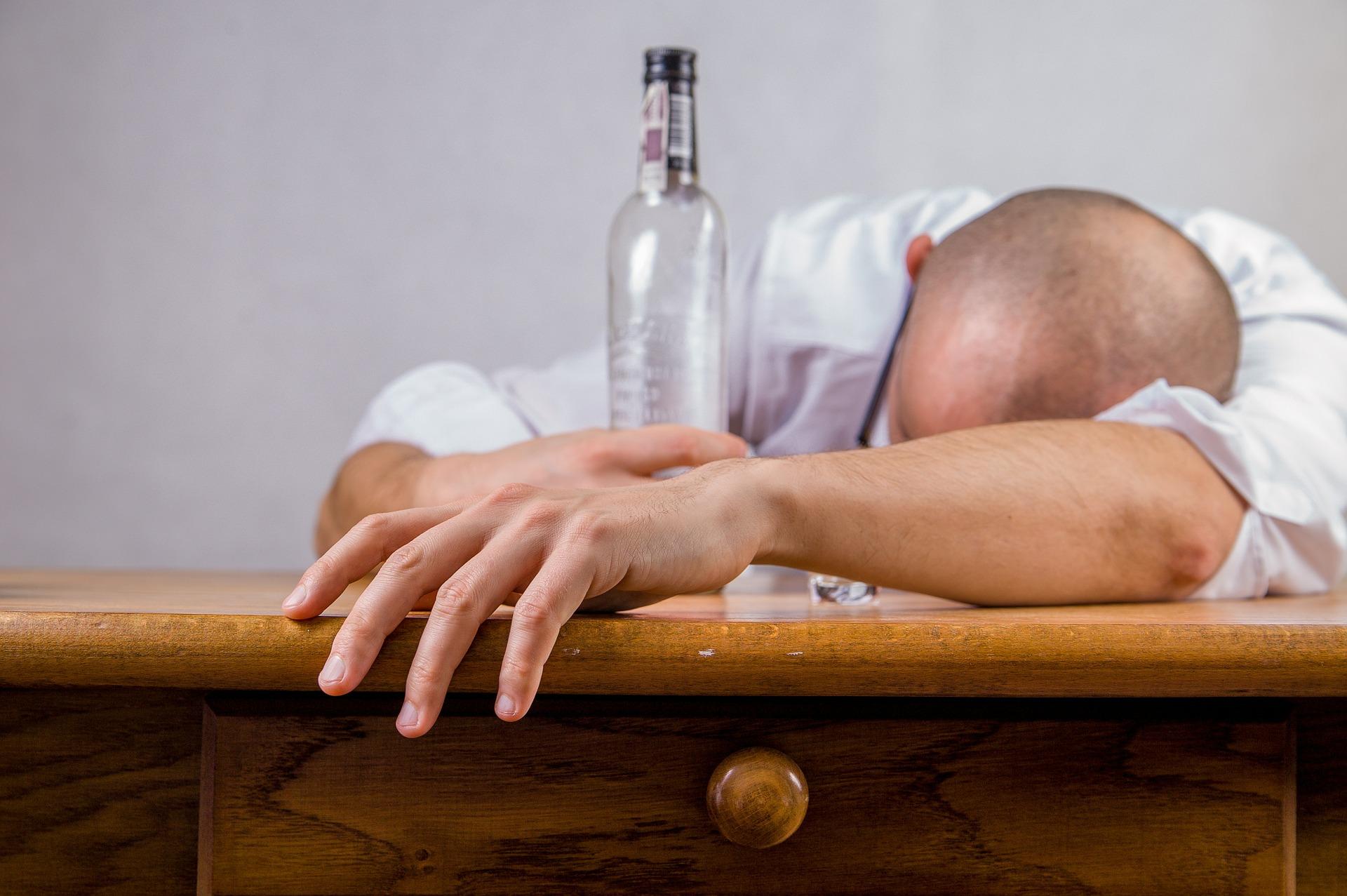 wpływ wódki na erekcję
